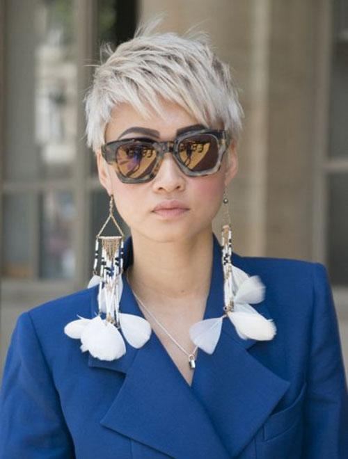 Modern-Short-Pixie Ideas for An Amazing Textured Pixie Cut