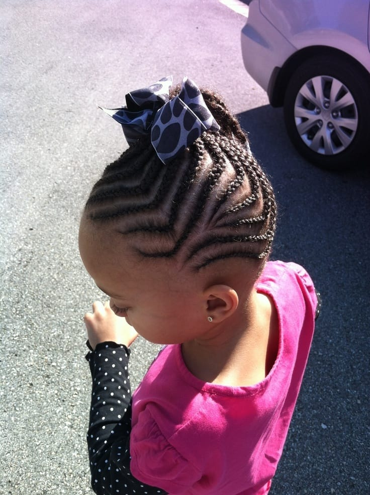 No-Fuss Cutest Braided Hairstyles for Little Girls Right Now