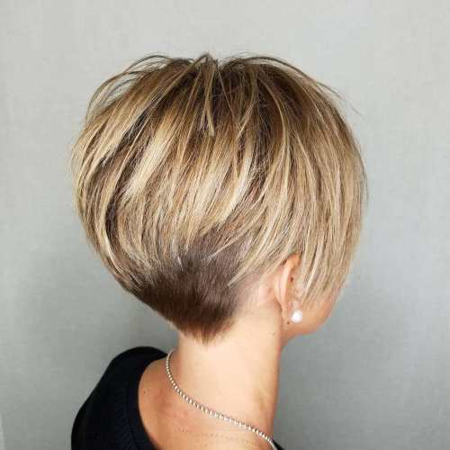 Pixie-with-Long-Crisp-Layers-and-Nape-Undercut 12 Pixie Haircuts for Thick Hair that will inspire your next cut