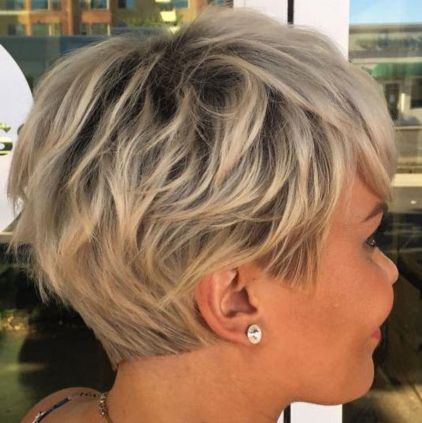 Razored-Cut-with-Precise-Nape-and-Sideburns 12 Trendy Pixie haircut ideas for your next cut