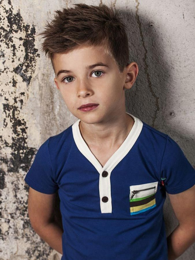 Rough-Spikes-with-Medium-Hair Cute Haircuts for Boys for Charming Look