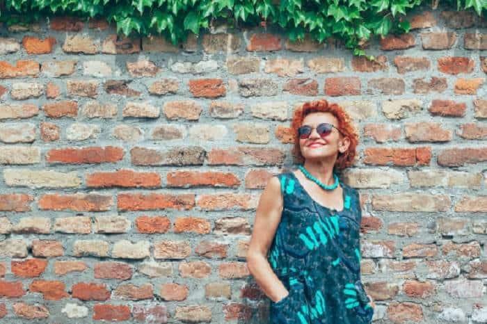 Short-Curly-Red-Hair Loveliest Medium Length Hairstyles for Older Women