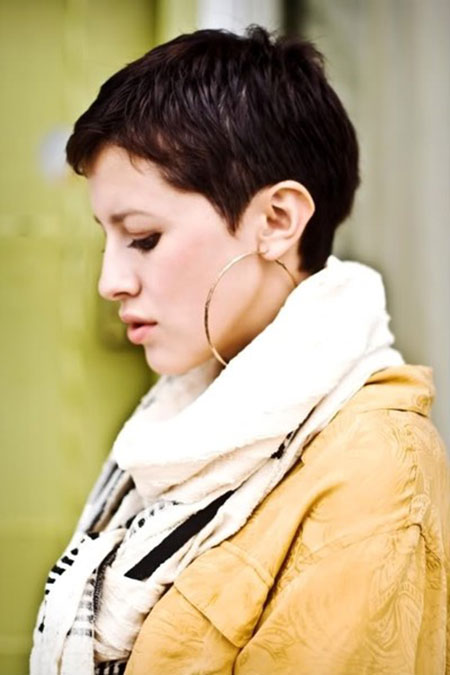 Short-Thick-Pixie-Hair Styles For Pixie Cuts 2020
