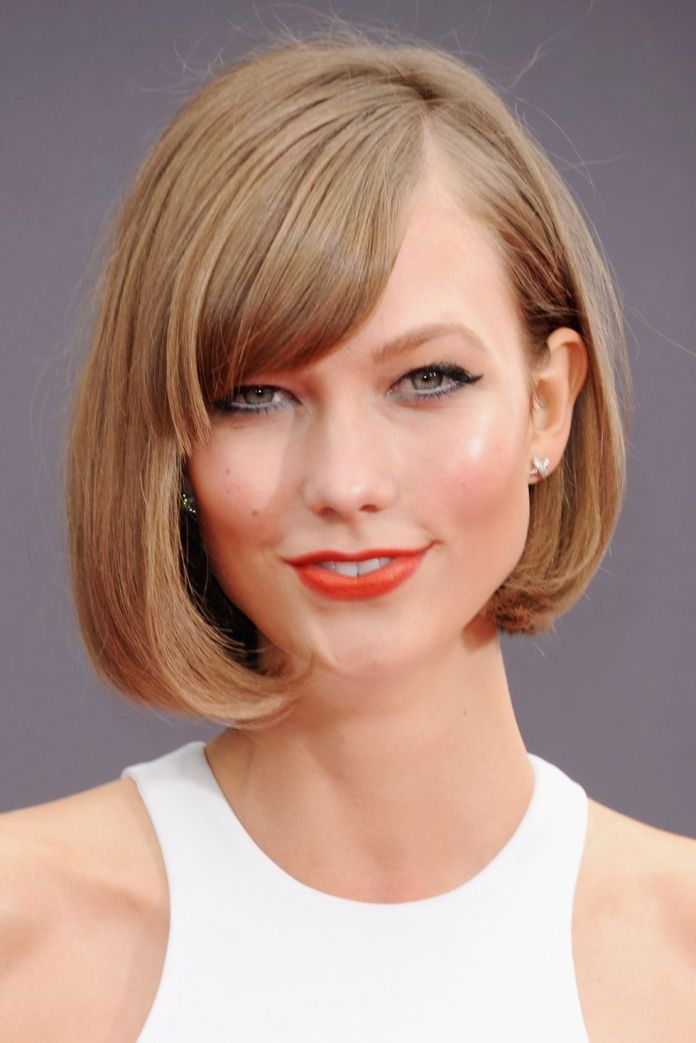 Side-Parted-With-a-Bob 12 Best Hairstyles with Bangs to Inspire Your Next Cut