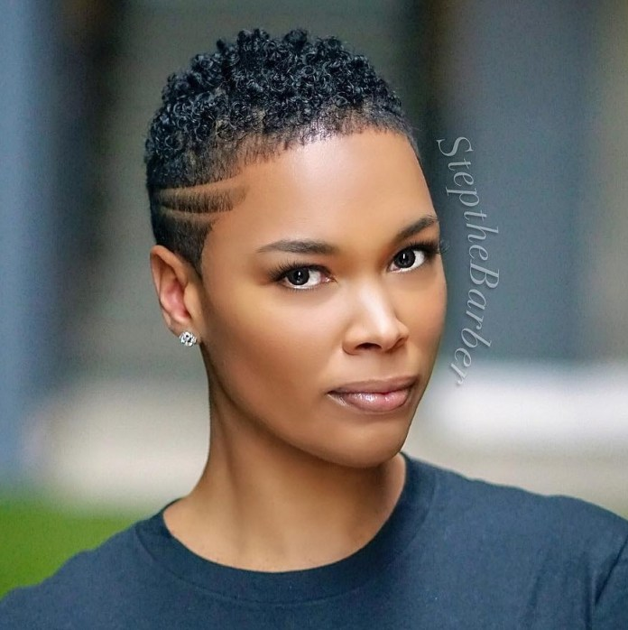 The-undercut 10 Short Haircuts For Black Women To Look Stylish