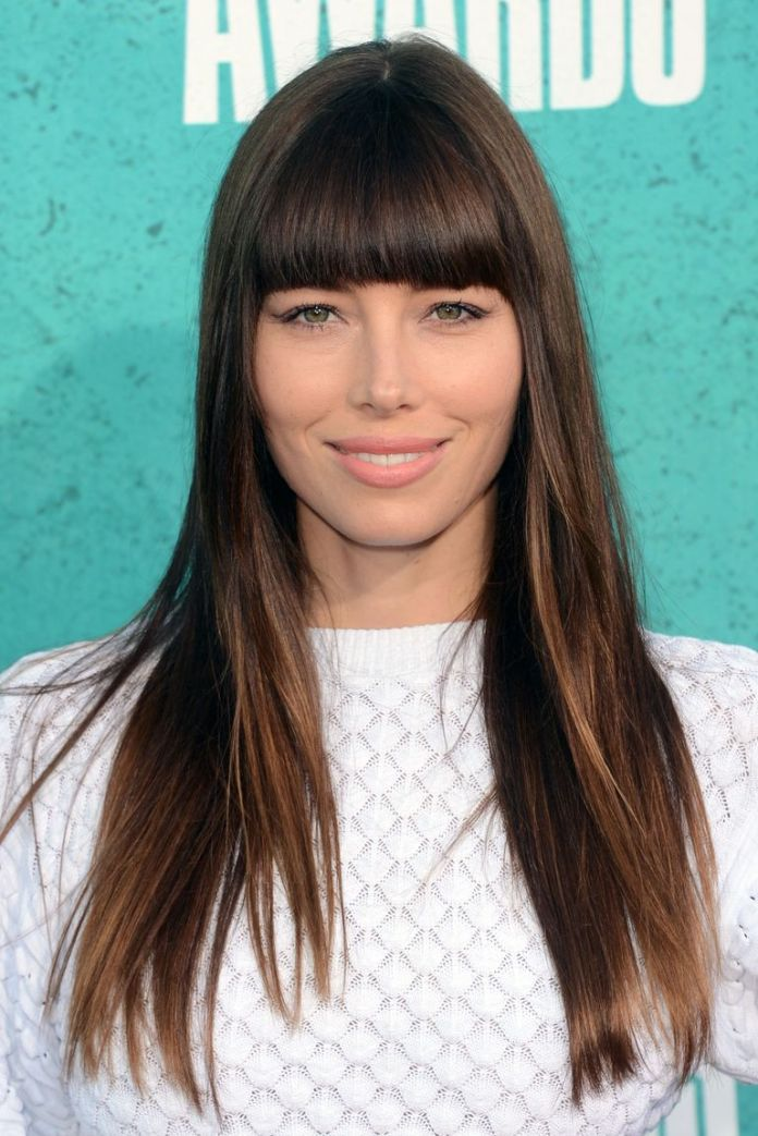 Thick-and-Straight-Bangs 12 Best Hairstyles with Bangs to Inspire Your Next Cut