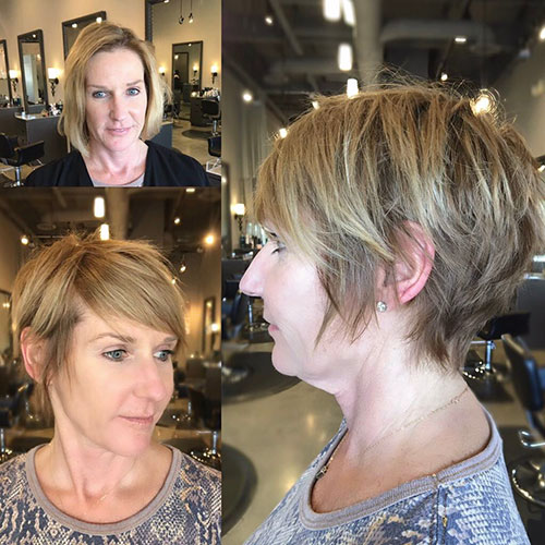 Trendy-Textured-Haircut Ideas for An Amazing Textured Pixie Cut