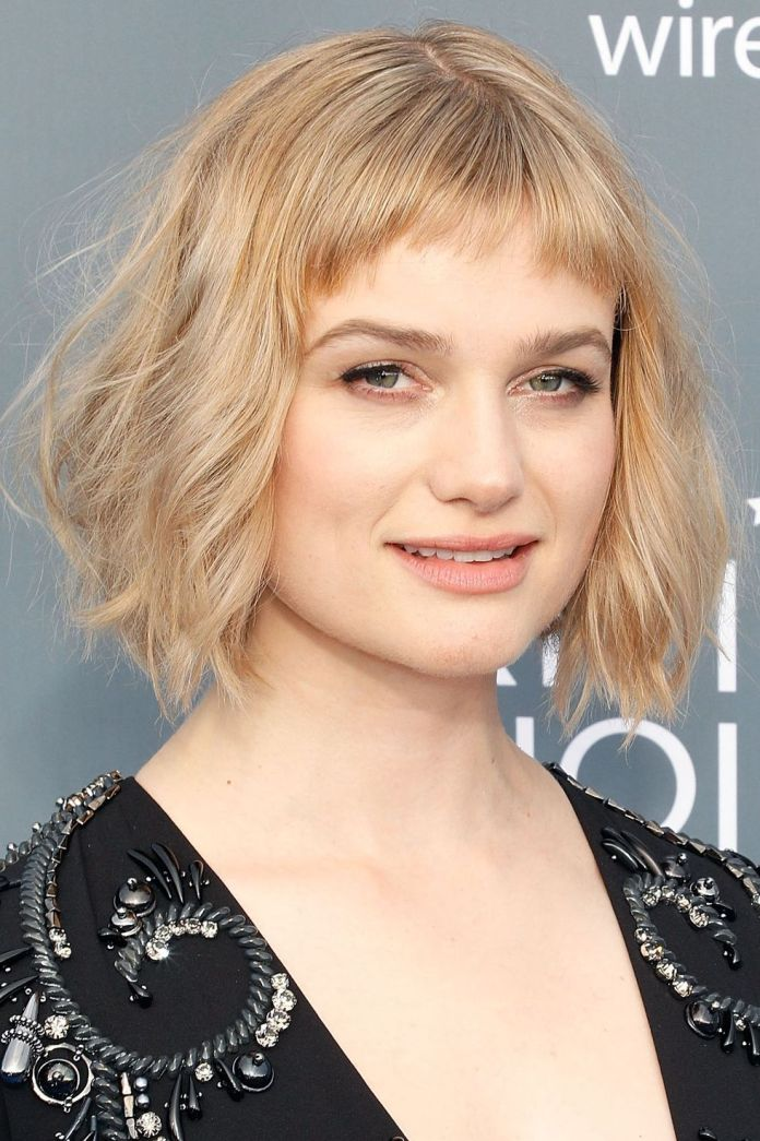 Uneven-Baby-Bangs 14 Best Hairstyles With Bangs to Inspire Your Next Cut