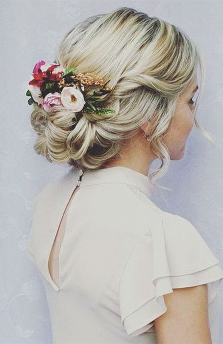 Updo-for-Wedding 15 Super Chic Updo Ideas for Short Hair