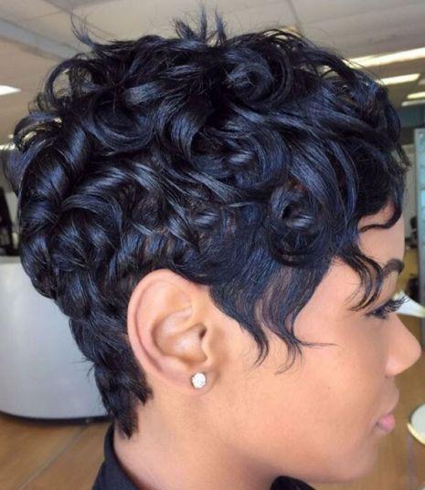 Varied-Lengths-for-Short-Hair 12 Great Short Hairstyles for Black Women