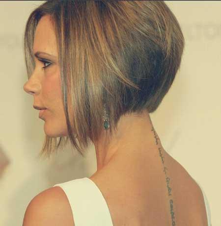 Victoria-Beckham-A-line-Bob-Hairstyle Bob Hair Styles for 2020