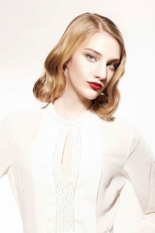 Vintage-Bob-with-Side-Part Amazing Medium Length Bob Hairstyles to Explore
