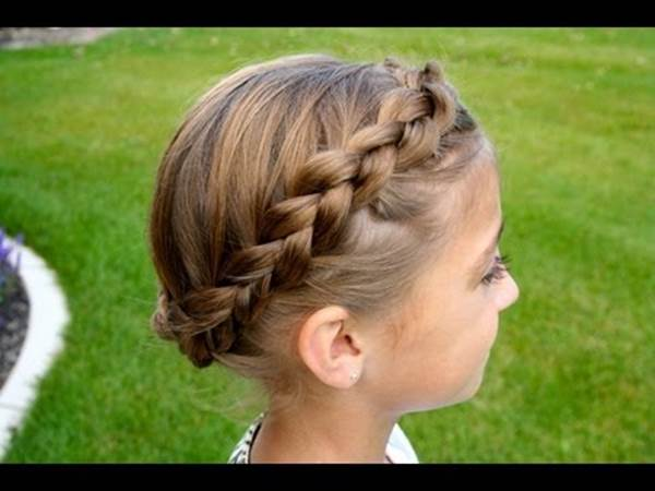 Warp-Around-Braids Cutest Braided Hairstyles for Little Girls Right Now