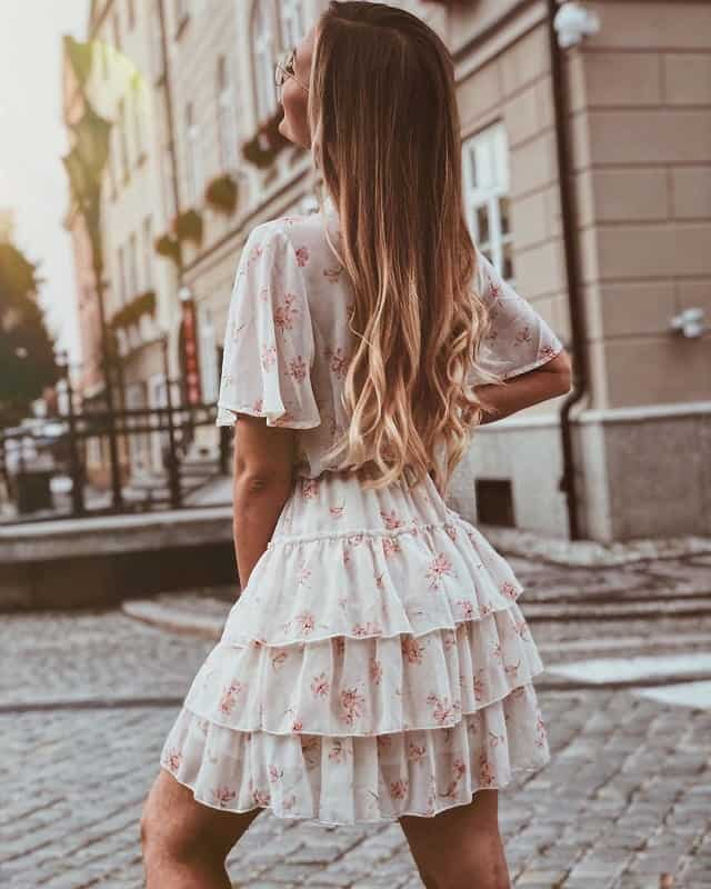 White-Ombre-Hairstyle Bewitching Brunette Ombre Hair Ideas (2020 Guide)