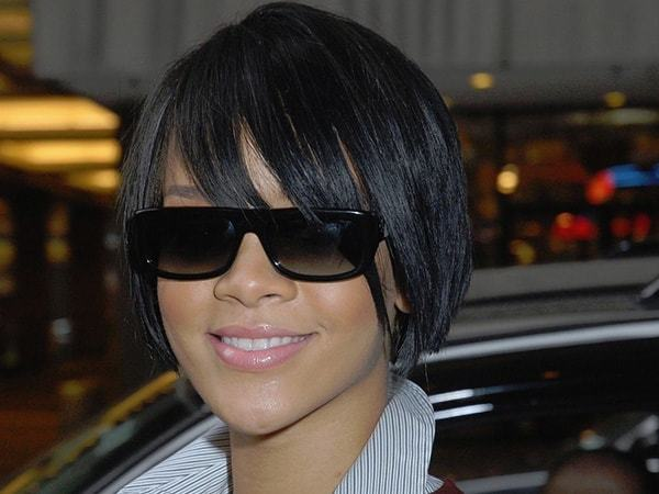 Wispy-bangs Quick and Easy Short Weave Hairstyles
