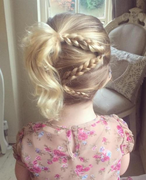 Zig-Zag-Braid-for-Little-Girls Cutest Braided Hairstyles for Little Girls Right Now