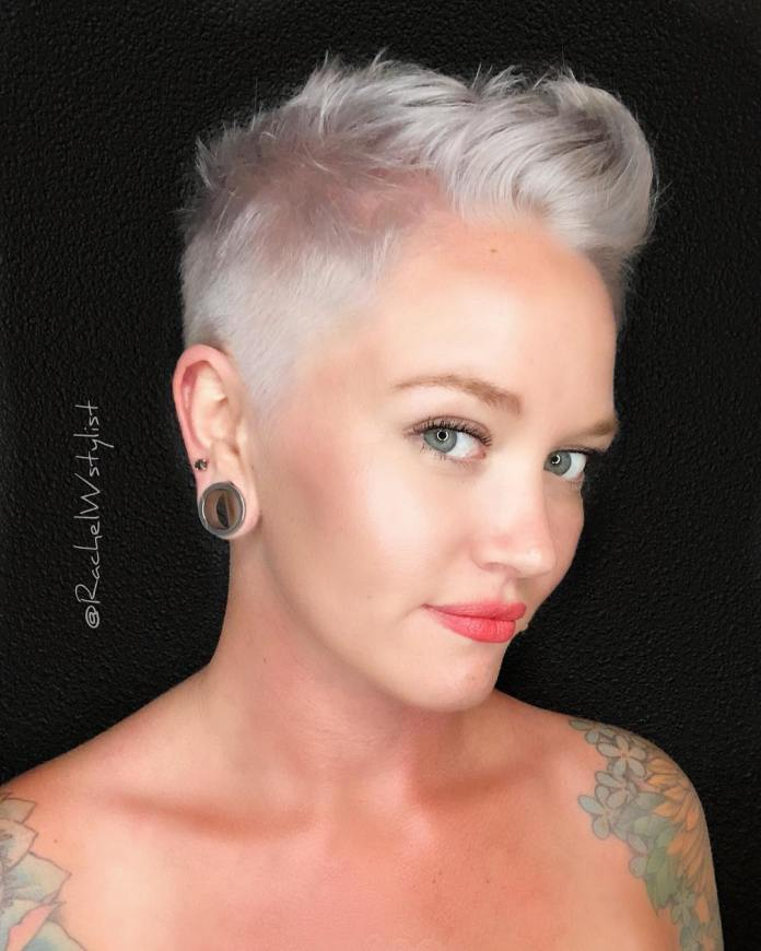 a-bold-undercut 12 Fabulous Women's Haircuts For Thin Hair