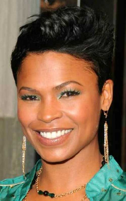 African-American-Advanced-Short-Pixie-Haircut-for-Black-Women Naturally Short Hairstyles for Beautiful Black Women