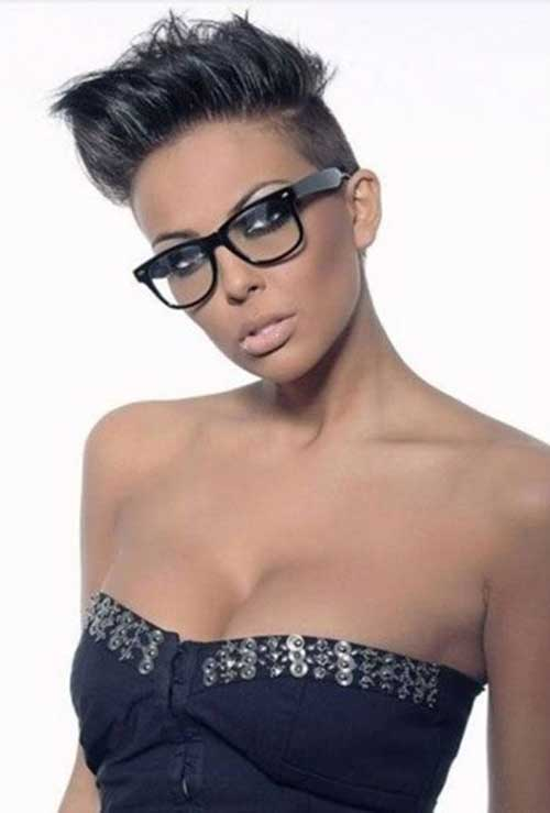 Best-Black-Short-Pixie-Haircut-for-Women Naturally Short Hairstyles for Beautiful Black Women