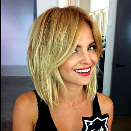 Blonde-Straight-Fantastic-Bob 25 Blonde Bob Haircuts