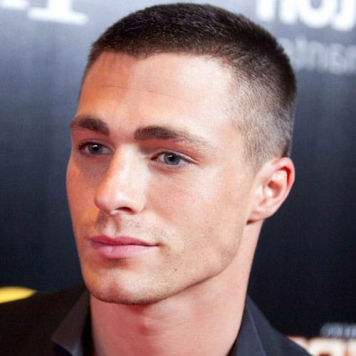 Buzz-Cut 10 Best hairstyles for men with thick hair 2020