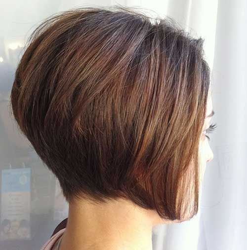 Chic-Stacked-Thick-Bob-Haircut Best Ways to Sport Bob Hairstyles with Thick Hair