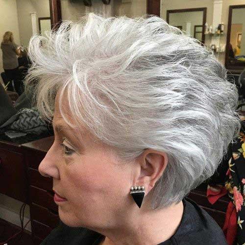 Classy-Short-Haircut-Older-Women Amazing Short Haircuts for Older Women