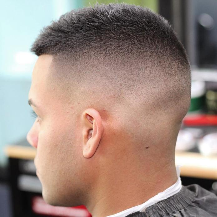 Clean-Buzz-Cut Most Trendy Looks of Short Fade Haircuts