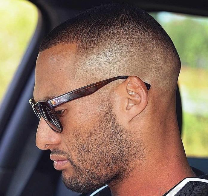 Crew-Cut-with-a-Skin-Fade Most Trendy Looks of Short Fade Haircuts