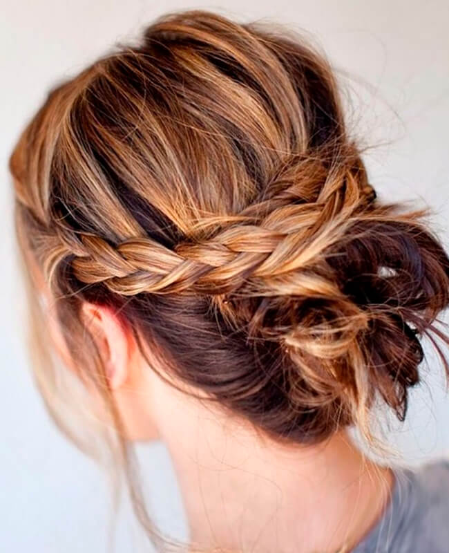 Cross-Boho-Braid-Hairstyle Most Amazing Medium Braided Hairstyles