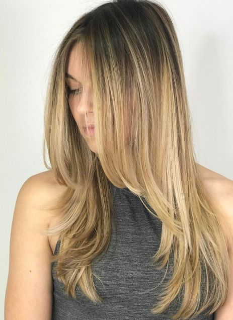 Descending-Face-Framing-Layers 15 Trendy Long Haircuts For Women In 2020