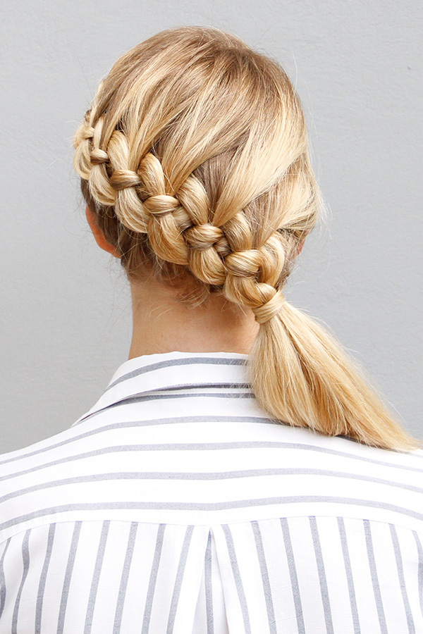 Four-Stranded-Braid Long Braided Hairstyles to Look Beautiful as Never Before