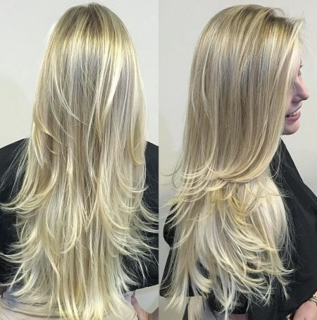 Full-and-Bouncy-Long-Layers 15 Trendy Long Haircuts For Women In 2020