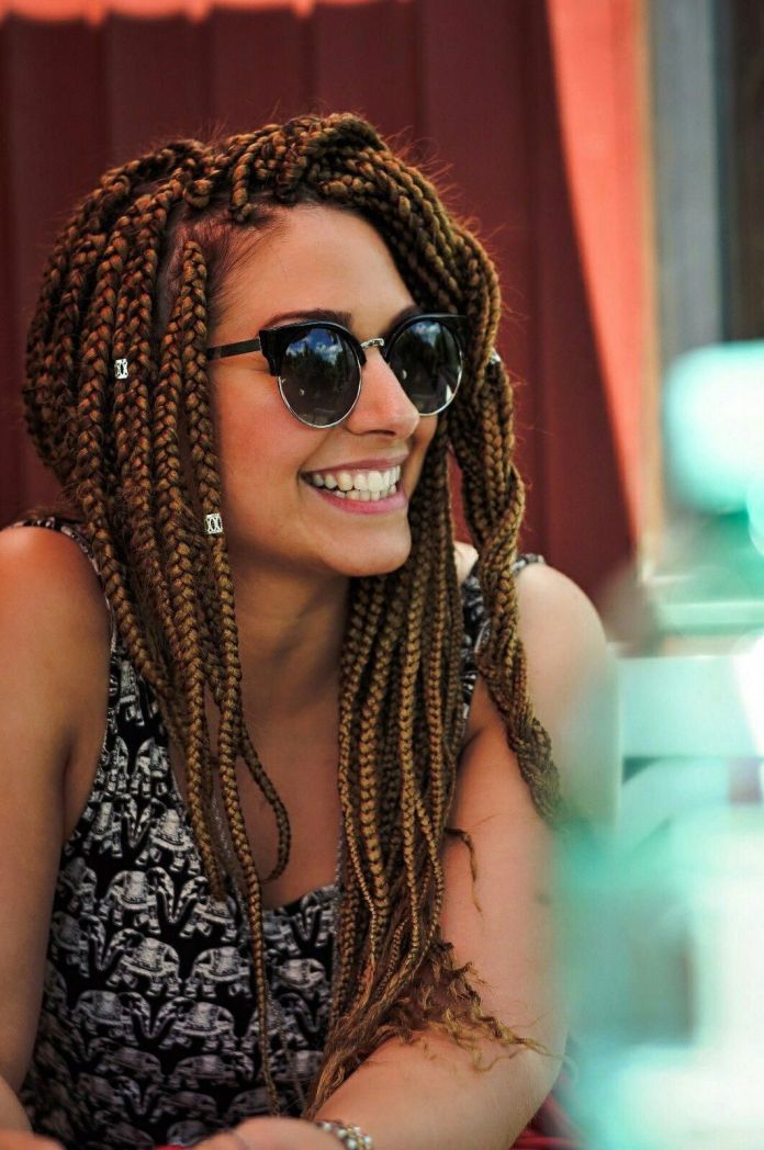 Golden-Box-Braids Natural Hair Braids to Enhance Your Beauty