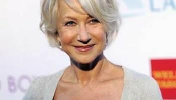 Helen-Mirren-Hair Popular Blunt Bob Hairstyles This Year