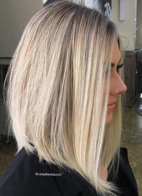 Long-A-Line-Bob 14 Mind-Blowing Haircuts for Thin Hair