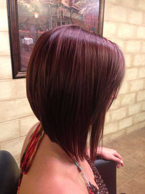 Long-Red-Straight-Bob-A-Line-Haircut 15 Ultimate Straight Long Bob Hairstyles