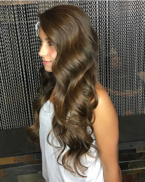 Long-prom-downdo 10 Gorgeous Prom Hairstyles For Long Hair