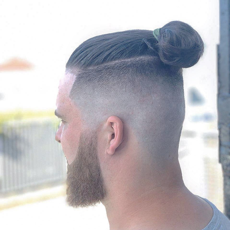 Man-Bun-Hairstyle Modern Hairstyles for Men to Look Awesome