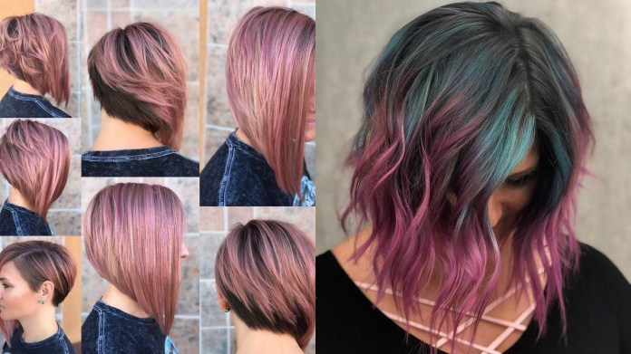 Medium-Hairstyles-with-Color Most Coolest Medium Hairstyles with Color