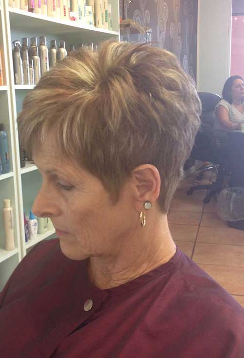 Modern-Pixie-Style Amazing Short Haircuts for Older Women