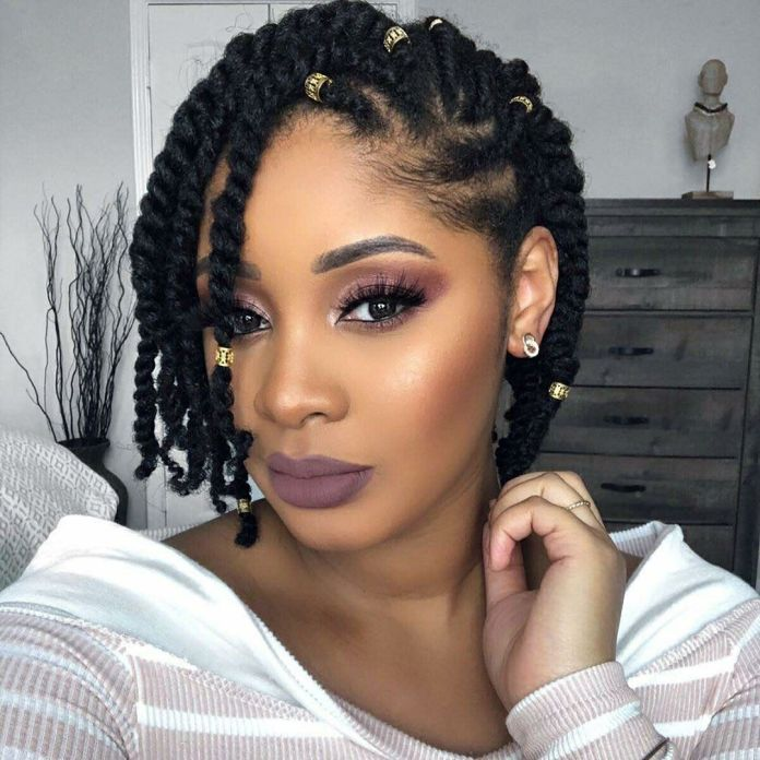 Natural-Twist-Hairstyle Natural Hair Braids to Enhance Your Beauty