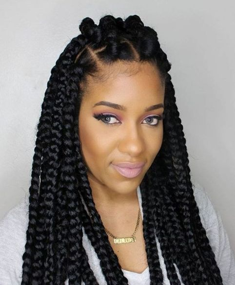 Poetic-Justice-Braids 12 Stunning Black Braided Hairstyles 2020