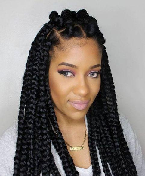 Poetic-Justice-Braids 12 Stunning Black Braided Hairstyles 2020