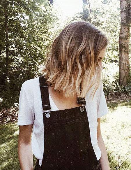 Popular-Balayage-Hair-Color-Ideas-002-ohfree.net_ Popular Balayage Hair Color Ideas for Short Hair