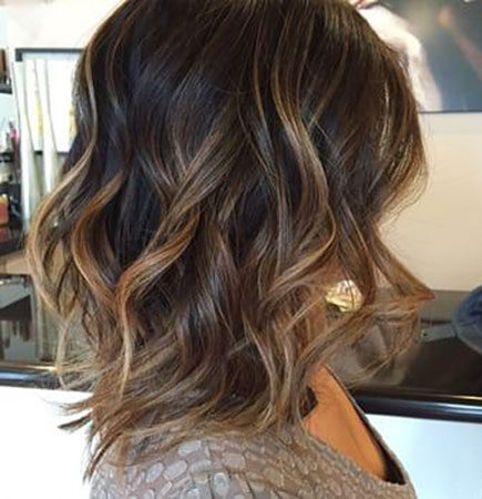 Popular-Balayage-Hair-Color-Ideas-004-ohfree.net_ Popular Balayage Hair Color Ideas for Short Hair