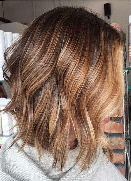 Popular-Balayage-Hair-Color-Ideas-006-ohfree.net_ Popular Balayage Hair Color Ideas for Short Hair