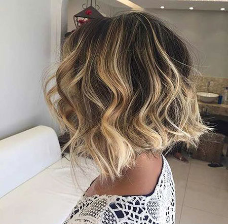 Popular-Balayage-Hair-Color-Ideas-008-ohfree.net_ Popular Balayage Hair Color Ideas for Short Hair