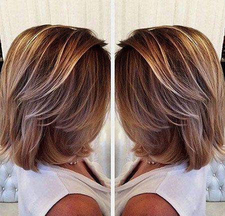 Popular-Balayage-Hair-Color-Ideas-011-ohfree.net_ Popular Balayage Hair Color Ideas for Short Hair