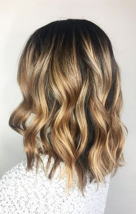 Popular-Balayage-Hair-Color-Ideas-024-ohfree.net_ Popular Balayage Hair Color Ideas for Short Hair